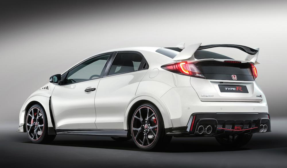 2016 honda civic type r official pricing. Black Bedroom Furniture Sets. Home Design Ideas