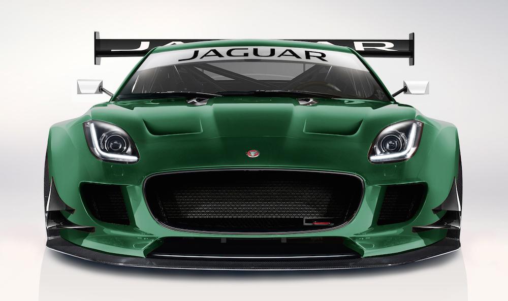 Jaguar F Type Race Car