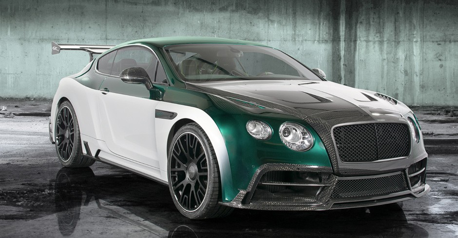 Mansory Bentley Continental Gt Race Revealed