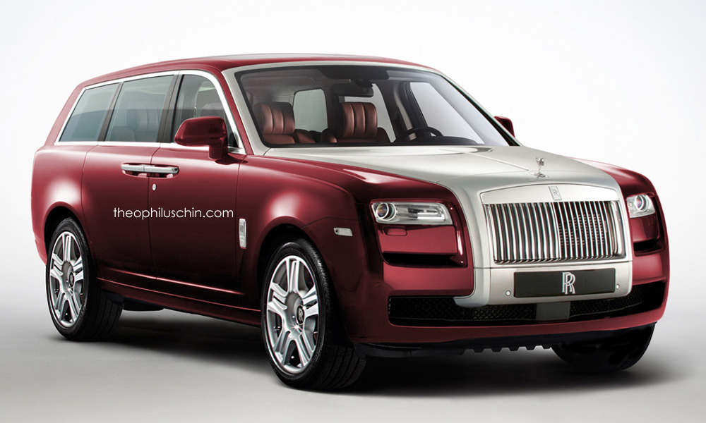 rolls royce cullinan suv imagined by t chin. Black Bedroom Furniture Sets. Home Design Ideas