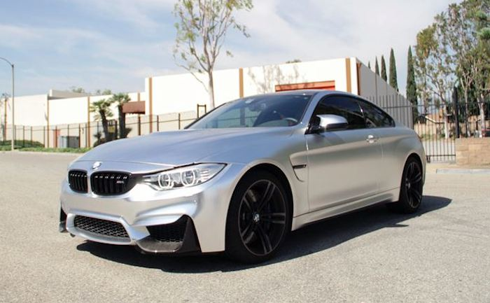 How About A Satin Chrome Bmw M4