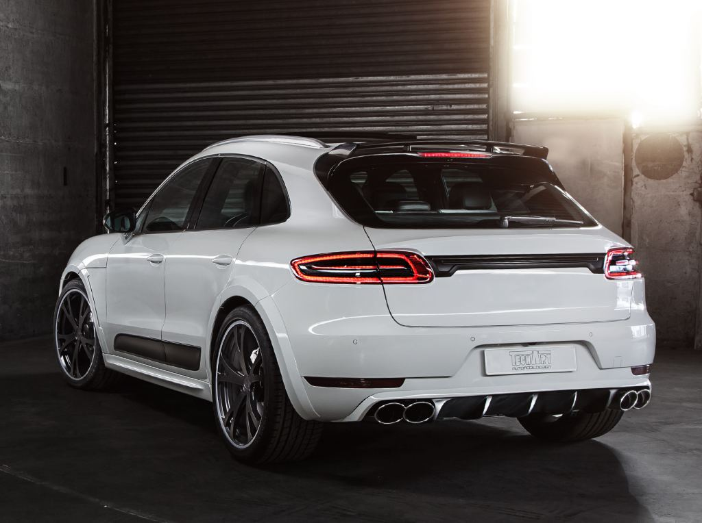 Tuningcars Techart Porsche Macan Bows In Geneva