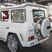 White Brabus G65 1 175x175 at White Brabus G65 Spotted for Sale at Alain Class