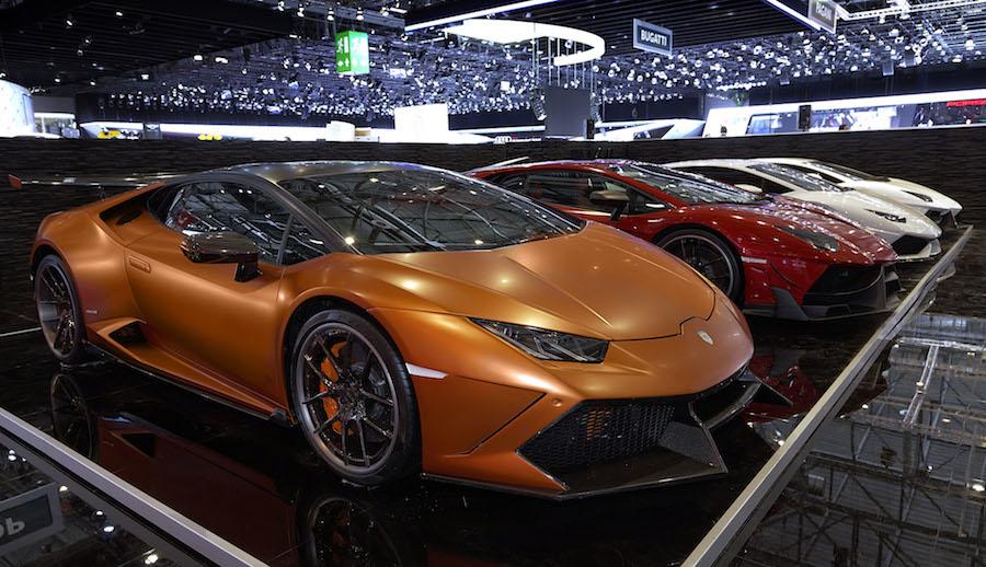 Geneva Motor Show 2015 Year's Geneva Motor Show