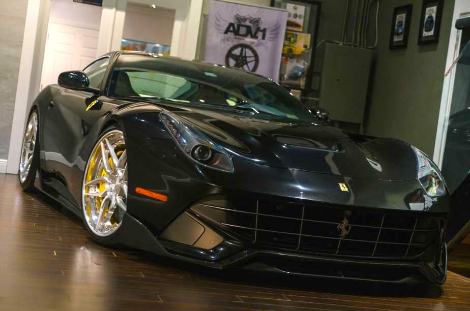 adv1 s ferrari f12 berlinetta is a sight to behold. Black Bedroom Furniture Sets. Home Design Ideas