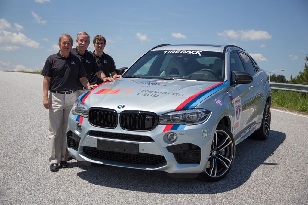 Bmw X6m To Compete In 2015 One Lap Of America
