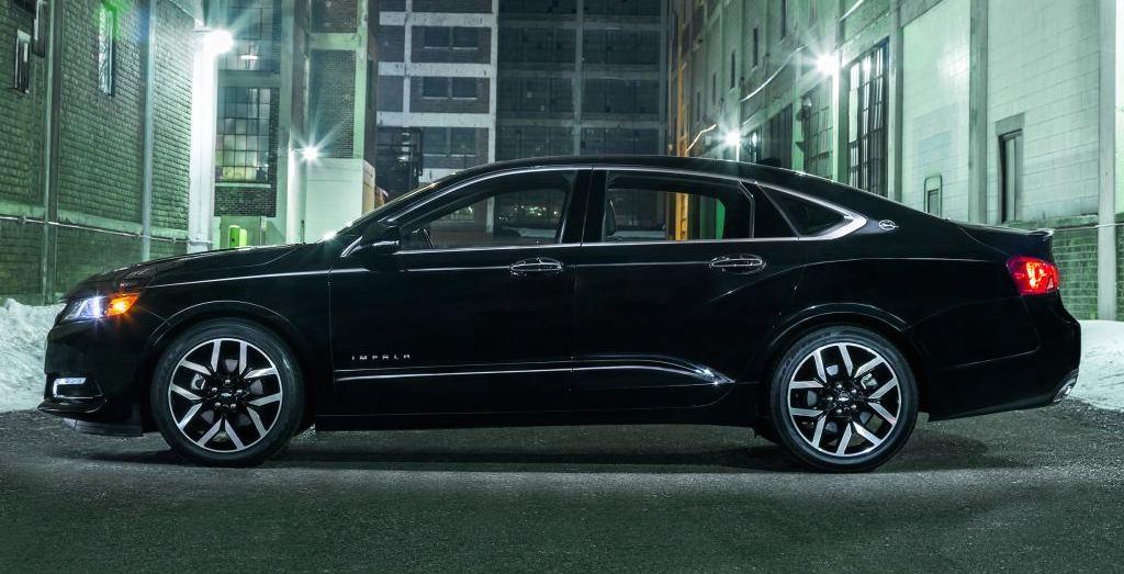 Official  2016 Chevrolet Impala Midnight Edition