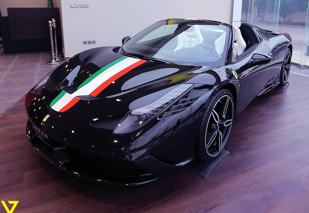 Spotlight Coolest Ferrari 458 Speciale A In The World