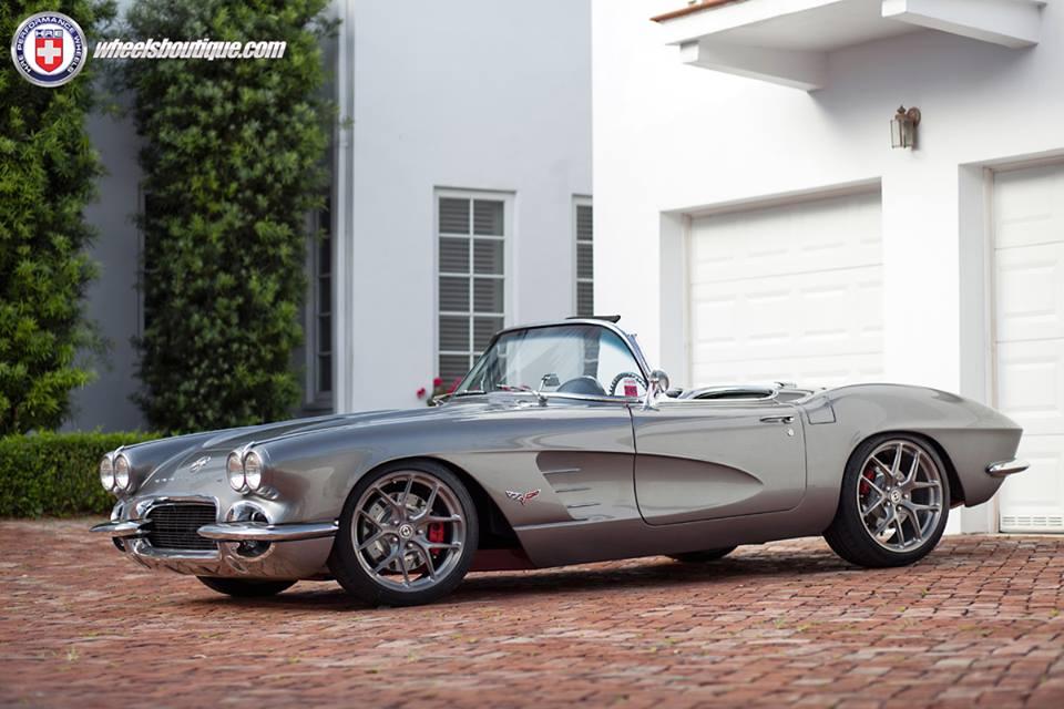 Gallery: Corvette C1 Restomod on HRE Wheels