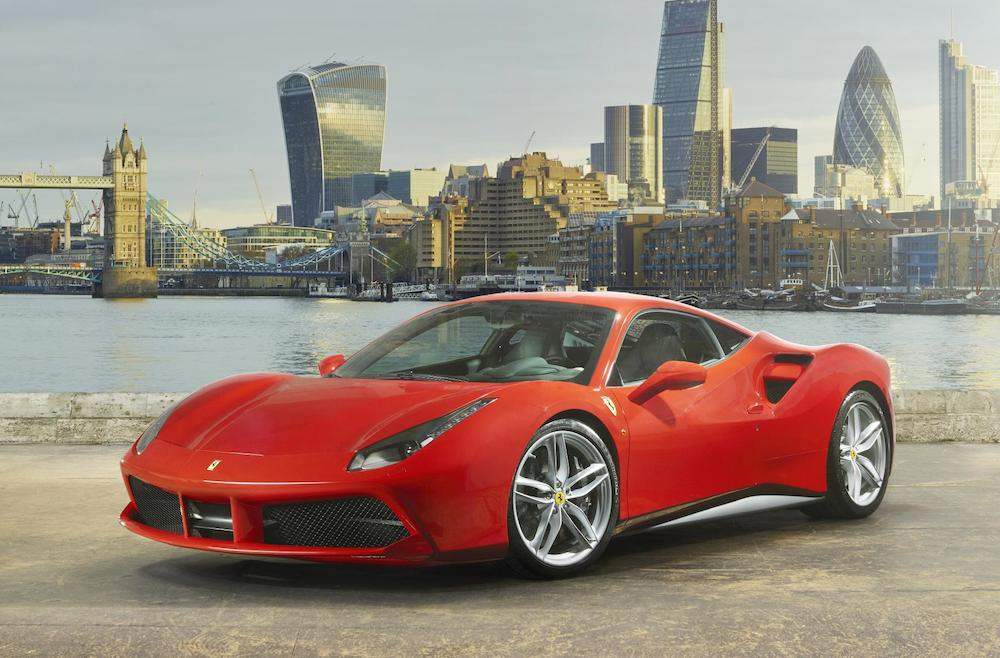 Ferrari 488 Gtb Showcased In Uk And France