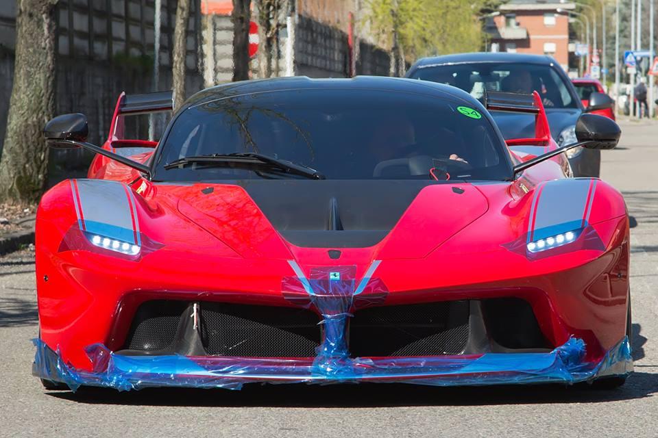 Ferrari Fxx K Spotted On The Road In Maranello