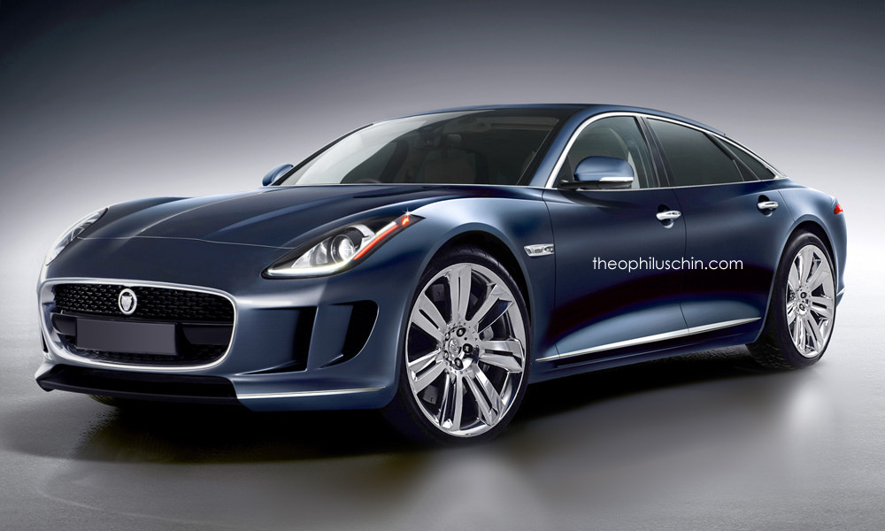 This Is What The Next Jaguar Xj Should Look Like