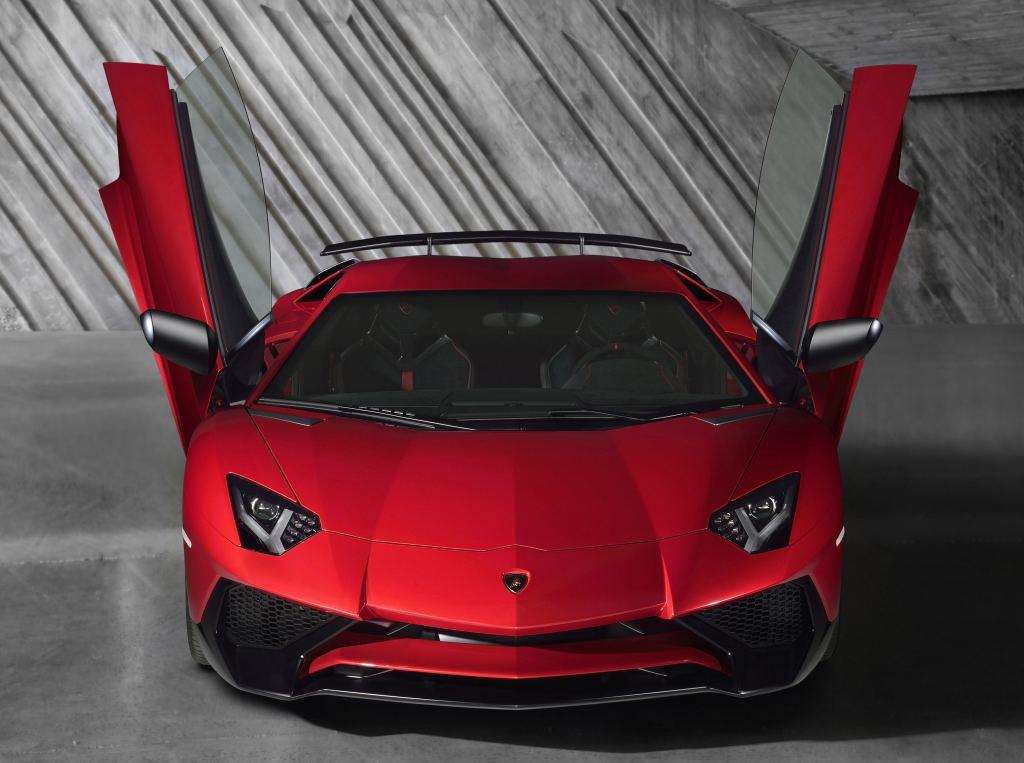 Lamborghini Aventador SV. 2015 год