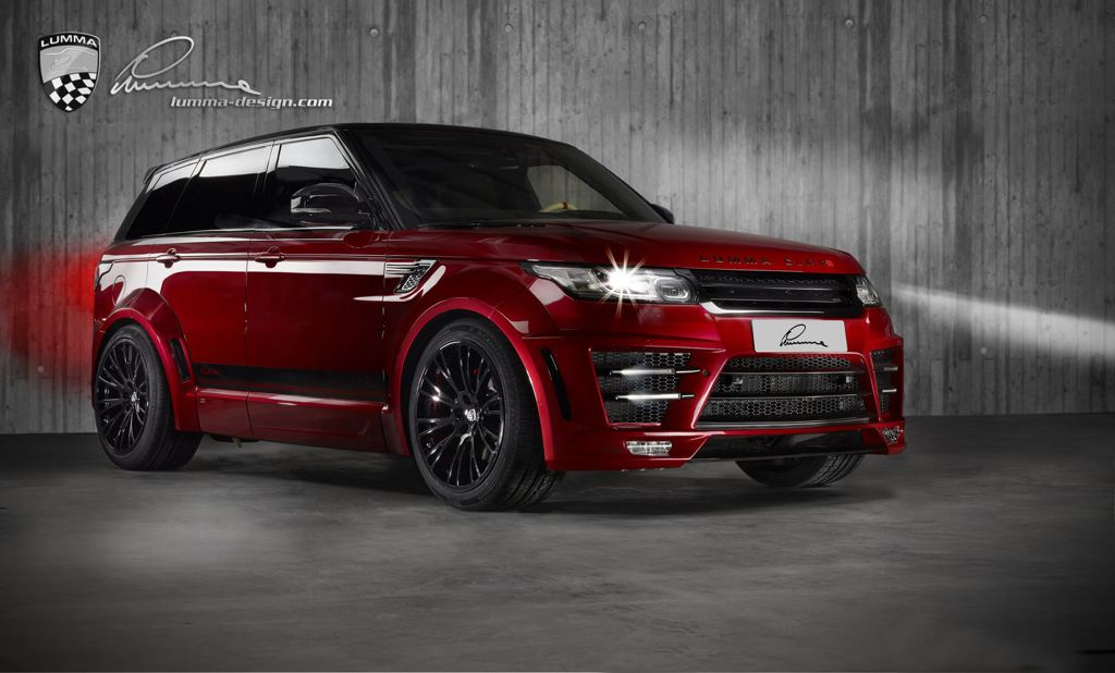 Lumma Range Rover Sport CLR RS in Firenze Red  Motorward