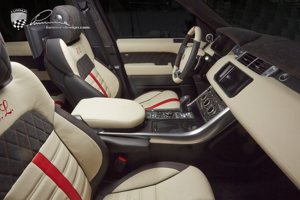 Lumma Range Rover Sport Clr Rs In Firenze Red