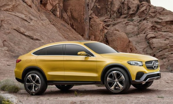 Official: Mercedes GLC Coupe