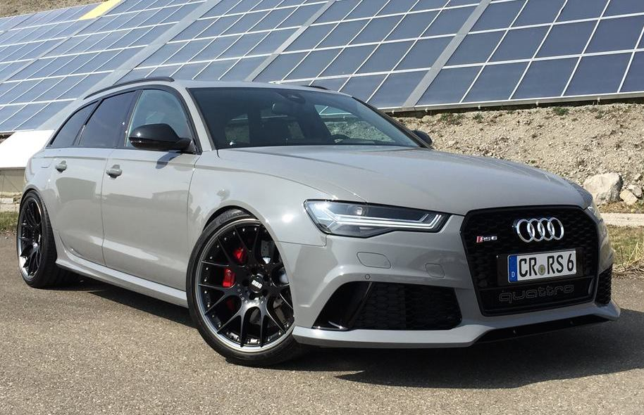 Nardo Grey Audi Rs6 By Tw Car Design