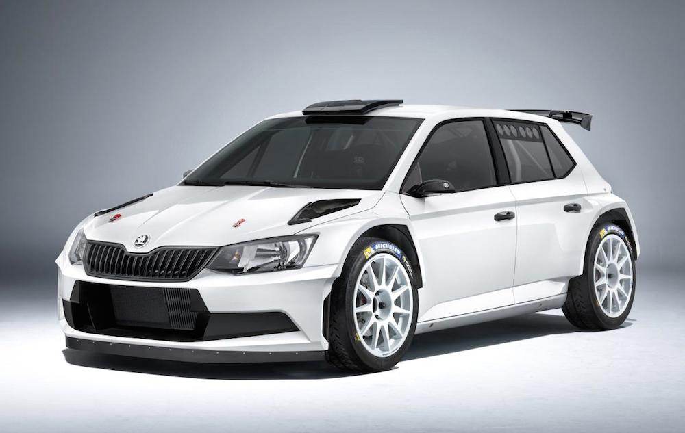 skoda fabia r5 rally car launched. Black Bedroom Furniture Sets. Home Design Ideas