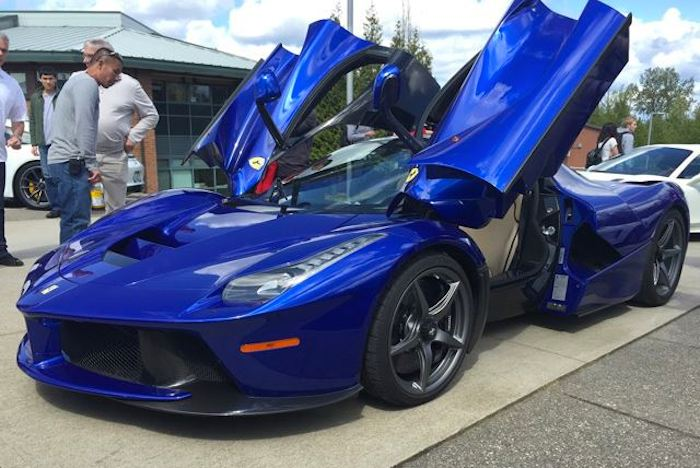 Blue LaFerrari Archives   Motorward