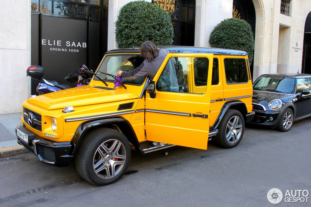 Mercedes G63 2018 >> Mercedes G63 AMG Solar Beam Crazy Color Spotted in Paris