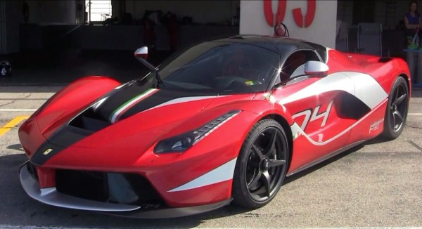 one off laferrari 1 600x326 at Onboard One Off LaFerrari at Paul Ricard