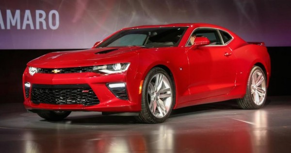 2016 Camaro Officially Unveiled
