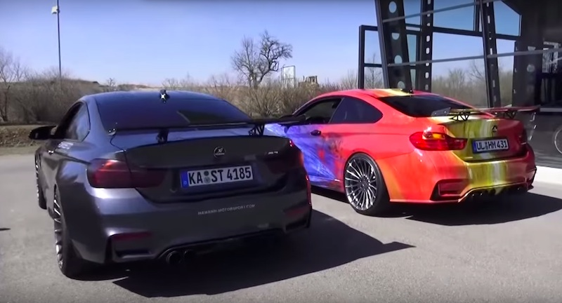 Best Sport Exhaust for BMW M4: Akrapovic vs Hamann - Motorward