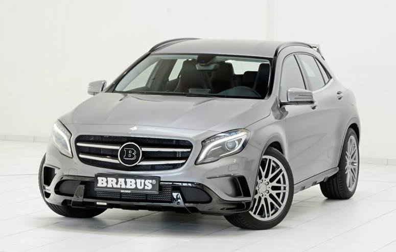 Mercedes Gla Amg Line Gets The Brabus Treatment