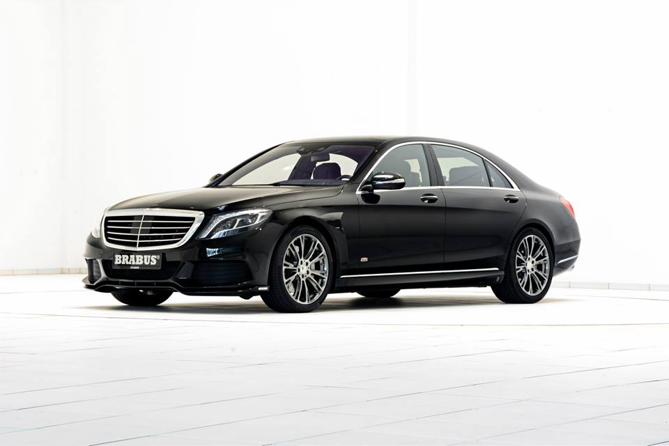 official brabus mercedes s class hybrid b50. Black Bedroom Furniture Sets. Home Design Ideas
