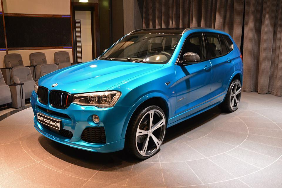 Custom Bmw X3 Shows Up In Abu Dhabi