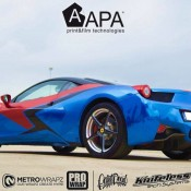 Ferrari 458 Embossed Wrap-7