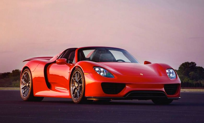 gallery red porsche 918 on hre wheels. Black Bedroom Furniture Sets. Home Design Ideas