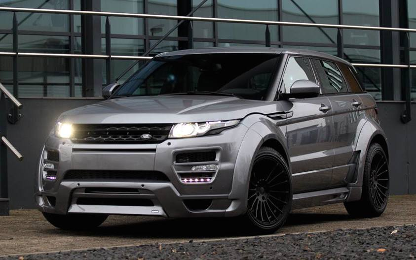 hamann range rover evoque gets chipped. Black Bedroom Furniture Sets. Home Design Ideas