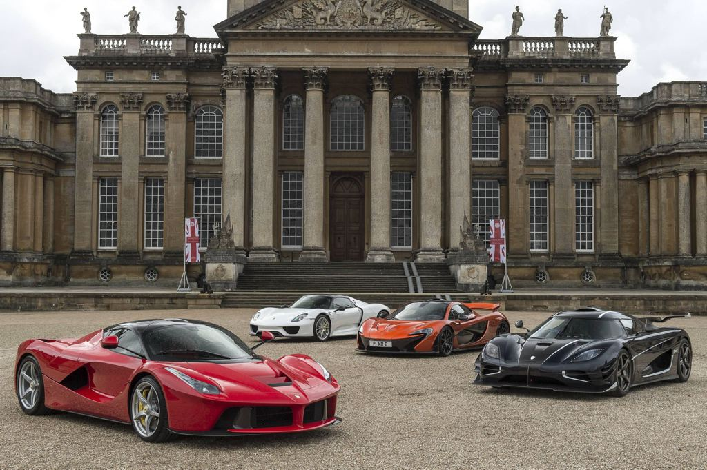 Gallery Hyper Cars At Salon Prive