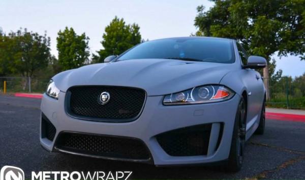 Jaguar XFR-S Matte Grey-0
