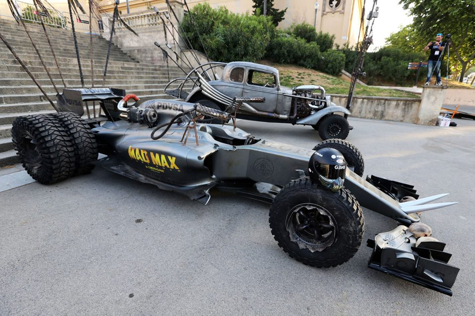 Lotus Unveils Mad Max F1 Car