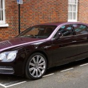 Magenta Bentley Flying Spur 0 175x175 at Two Tone Magenta Bentley Flying Spur Spotted in London