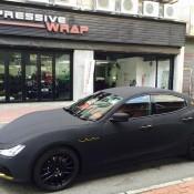 Maserati Ghibli Matte Black Suede-1