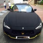 Maserati Ghibli Matte Black Suede-2