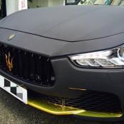 Maserati Ghibli Matte Black Suede-3