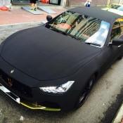 Maserati Ghibli Matte Black Suede-4