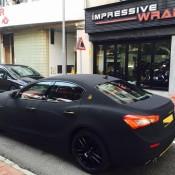 Maserati Ghibli Matte Black Suede-5