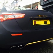 Maserati Ghibli Matte Black Suede-6