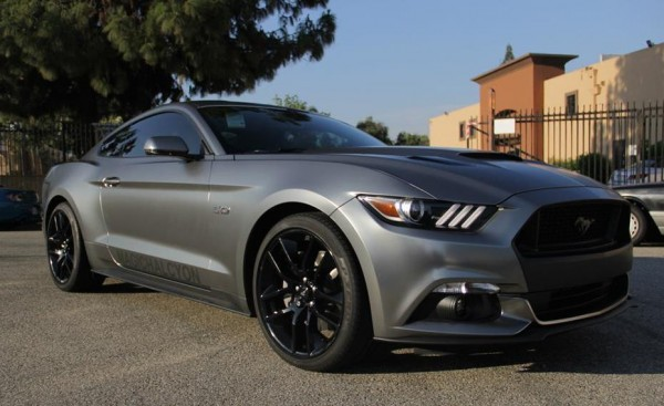 2015 Mustang Gt Gets A Custom Wrap