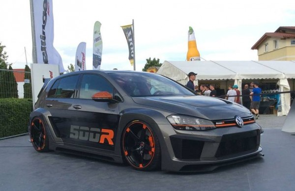 Volkswagen Golf R 500