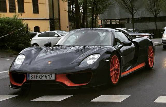 piech s own porsche 918 has veyron ss colors. Black Bedroom Furniture Sets. Home Design Ideas