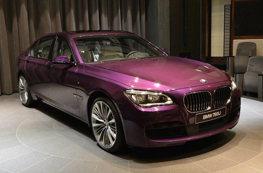 Super 7er: Twilight Purple BMW 760Li at BMWAD