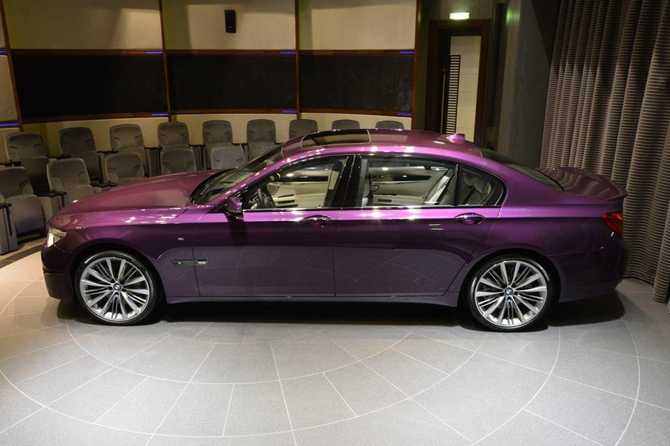 Bmw Of Newton >> Super 7er: Twilight Purple BMW 760Li at BMWAD