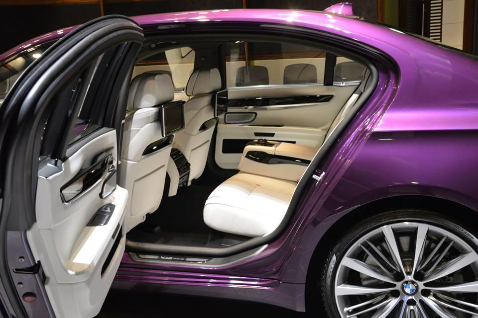 Компания BMW планирует выпустить новую модификацию 7 серии