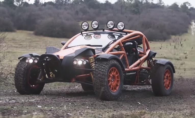 Top Gear Goes OffRoading in Ariel Nomad  Motorward